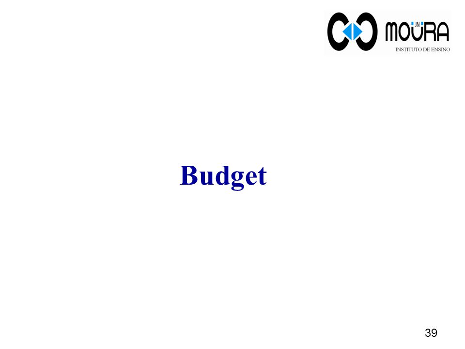 Budget 39