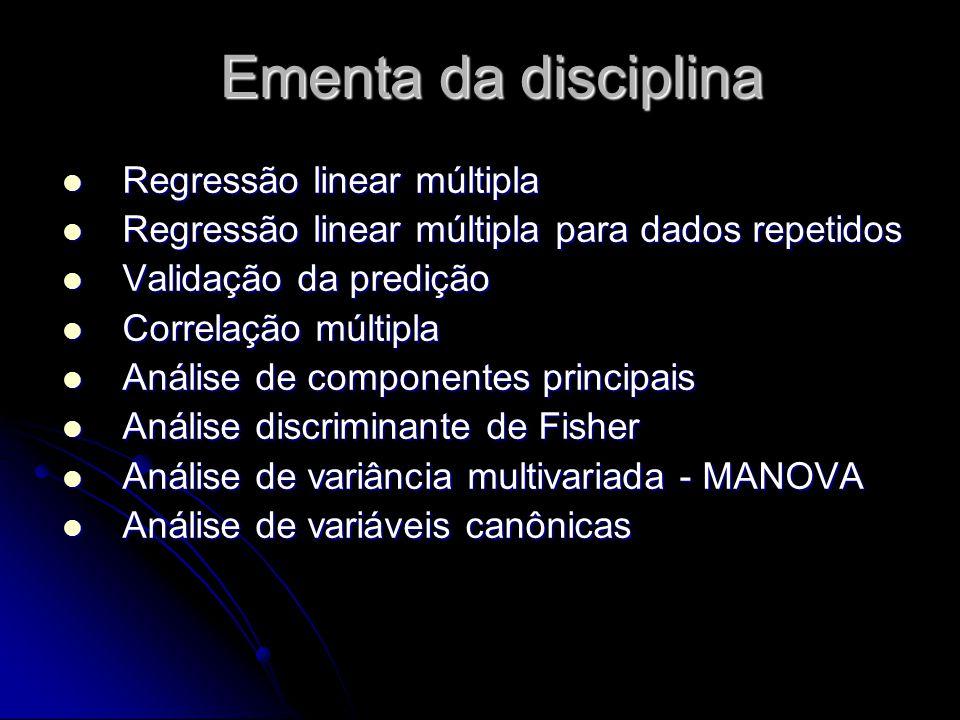 O erro do modelo na forma matricial é: O erro do modelo na forma matricial é: O problema consiste em se ajustar um modelo de regressão.