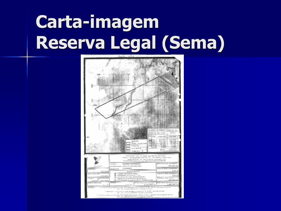 Carta-imagem Reserva Legal (Sema)