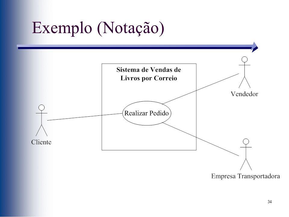 34 Exemplo (Notação)