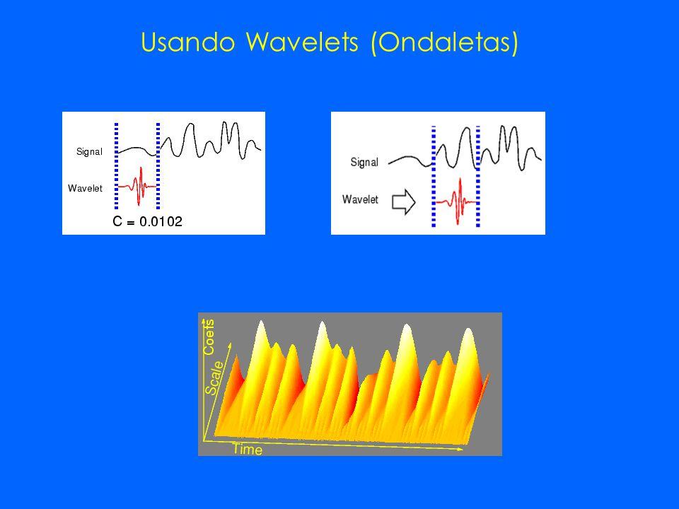 Usando Wavelets (Ondaletas)