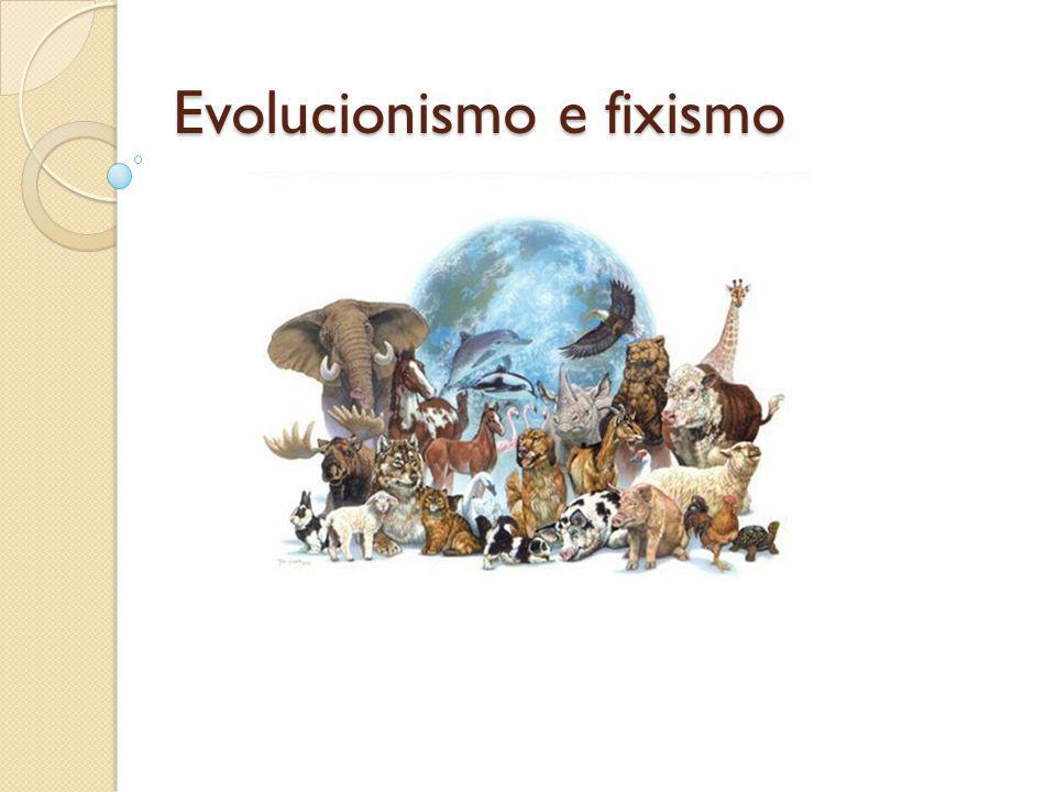 Evolucionismo e fixismo
