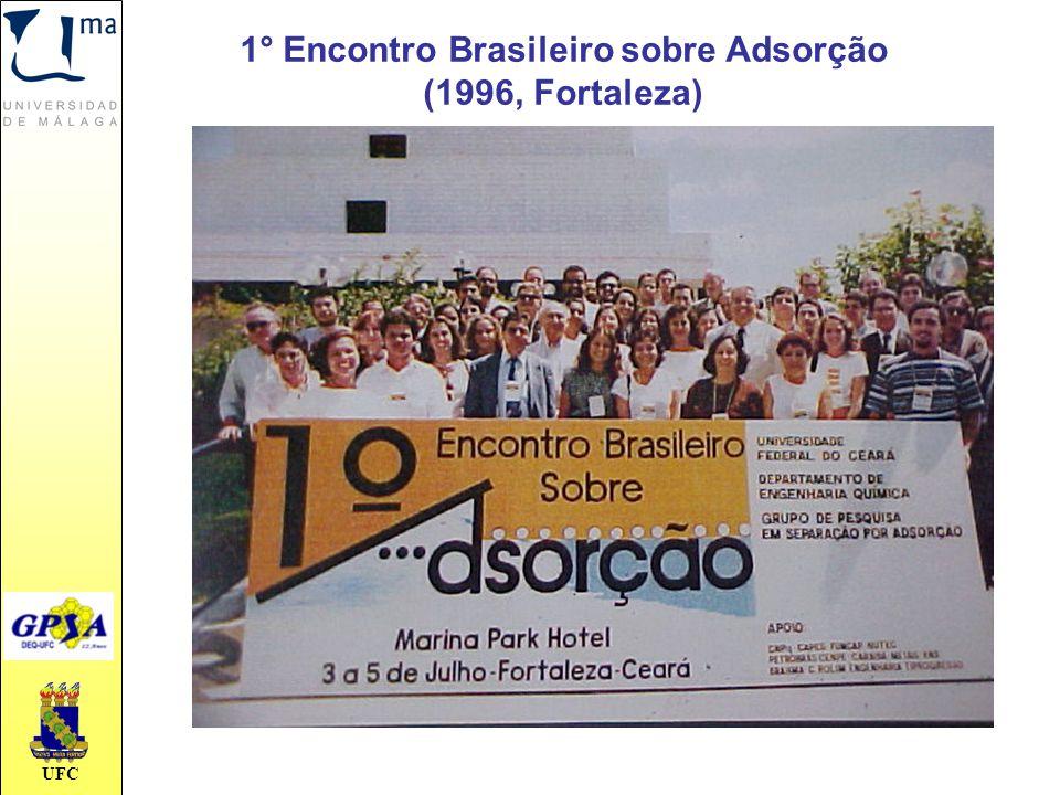UFC 1° Encontro Brasileiro sobre Adsorção (1996, Fortaleza)