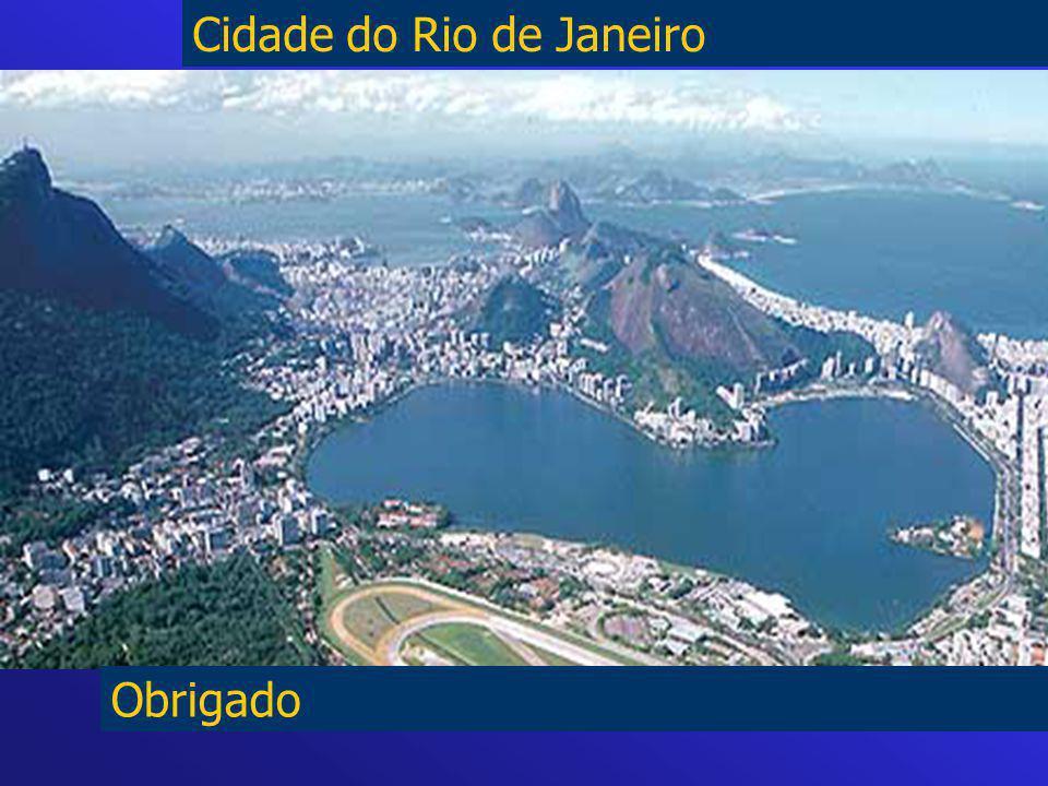 Obrigado Cidade do Rio de Janeiro