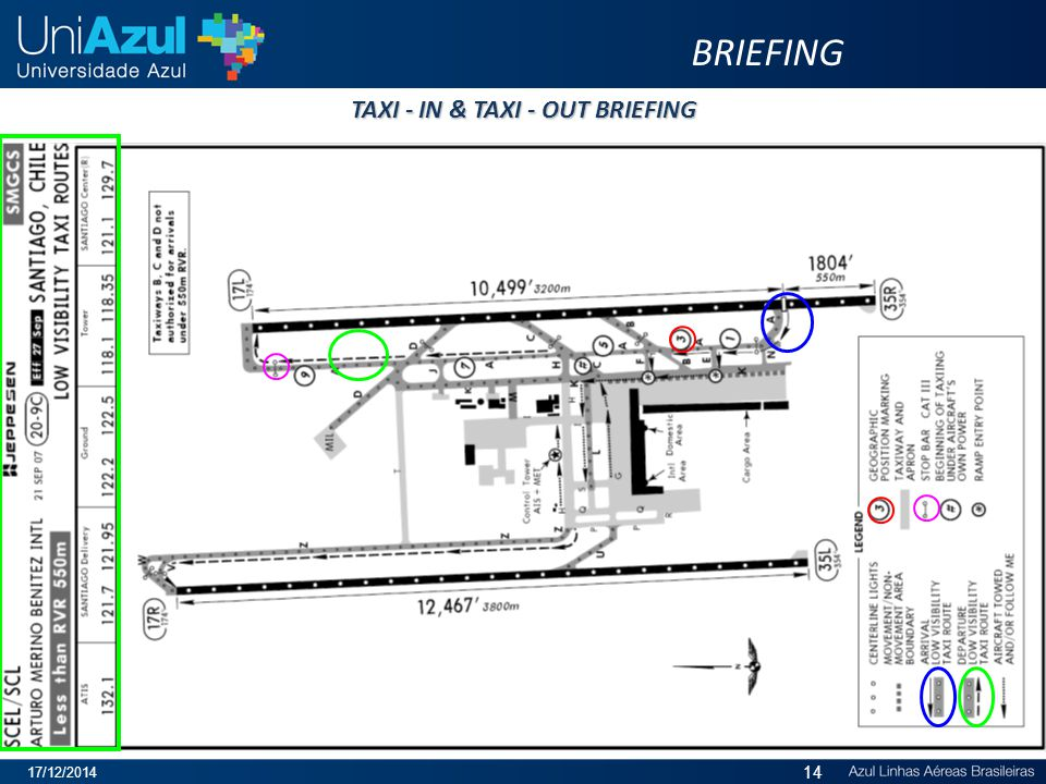 TAXI - IN & TAXI - OUT BRIEFING BRIEFING 17/12/2014 14