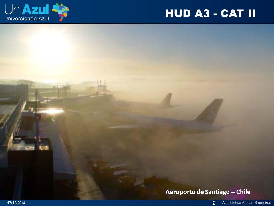 Aeroporto de Santiago – Chile 17/12/2014 2 HUD A3 - CAT II