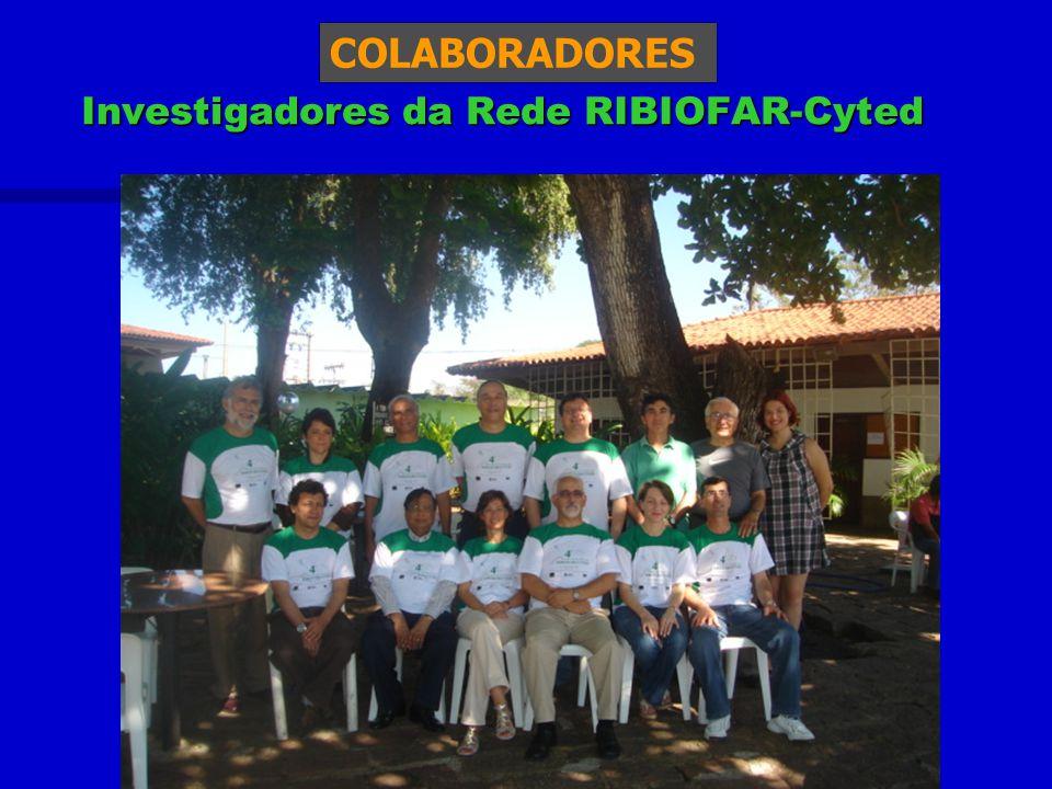 Investigadores da Rede RIBIOFAR-Cyted COLABORADORES
