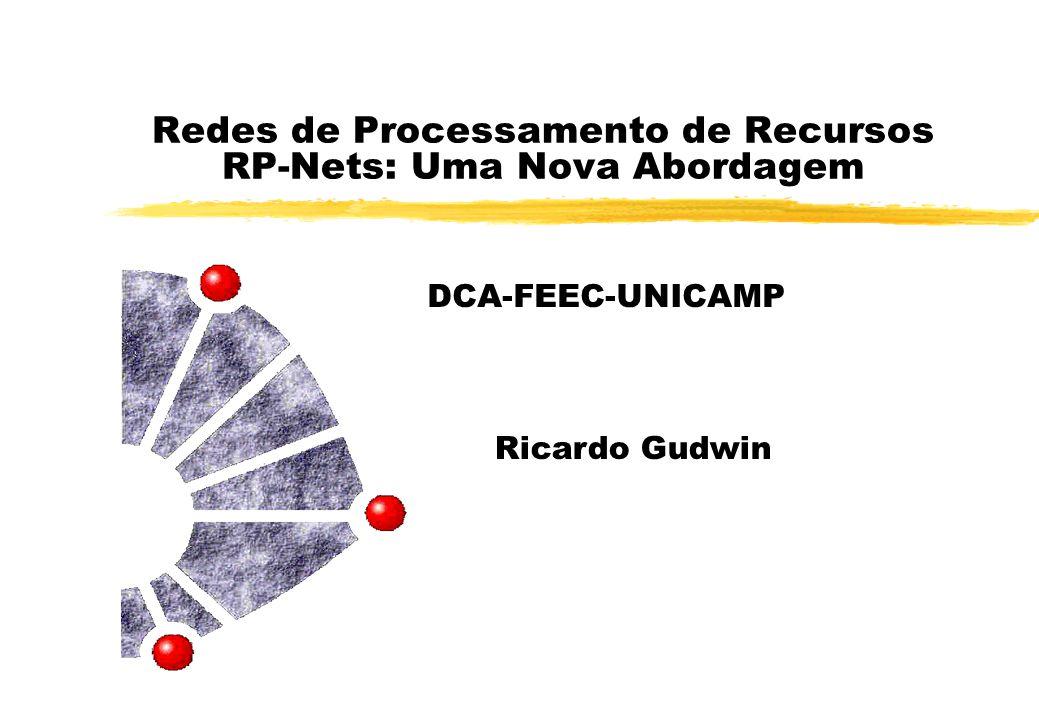 Redes de Processamento de Recursos RP-Nets: Uma Nova Abordagem DCA-FEEC-UNICAMP Ricardo Gudwin
