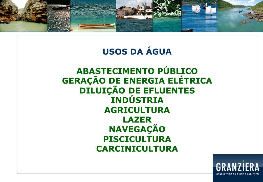 Política Nacional do Meio Ambiente: Lei 6.938/1981 Água: recurso ambiental Normas sobre qualidade da água