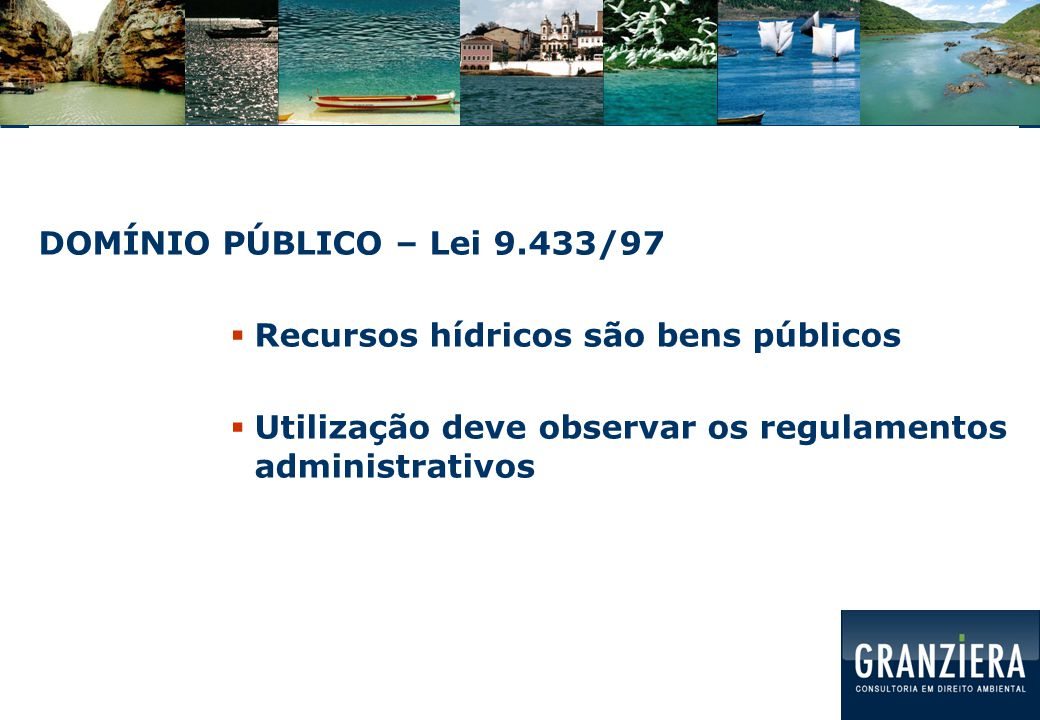 VALOR ECONÔMICO PR: econômico, social e ambiental  CAPTAÇÃO, LANÇAMENTO, ALTERAÇÃO DO REGIME DO CORPO HÍDRICO => PASSÍVEIS COBRANÇA  Natureza jurídica da cobrança: preço público => RECEITA PÚBLICA  DECISÃO: COMITÊ DE BACIA HIDROGRÁFICA/CONSELHO DE RH