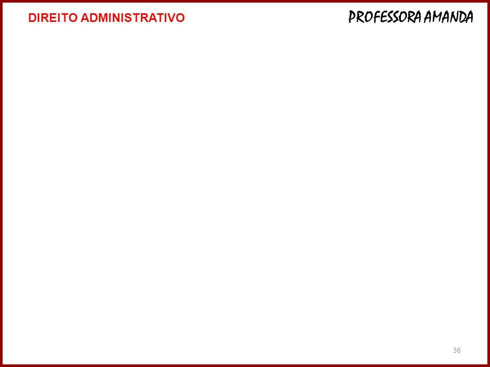 36 DIREITO ADMINISTRATIVO PROFESSORA AMANDA