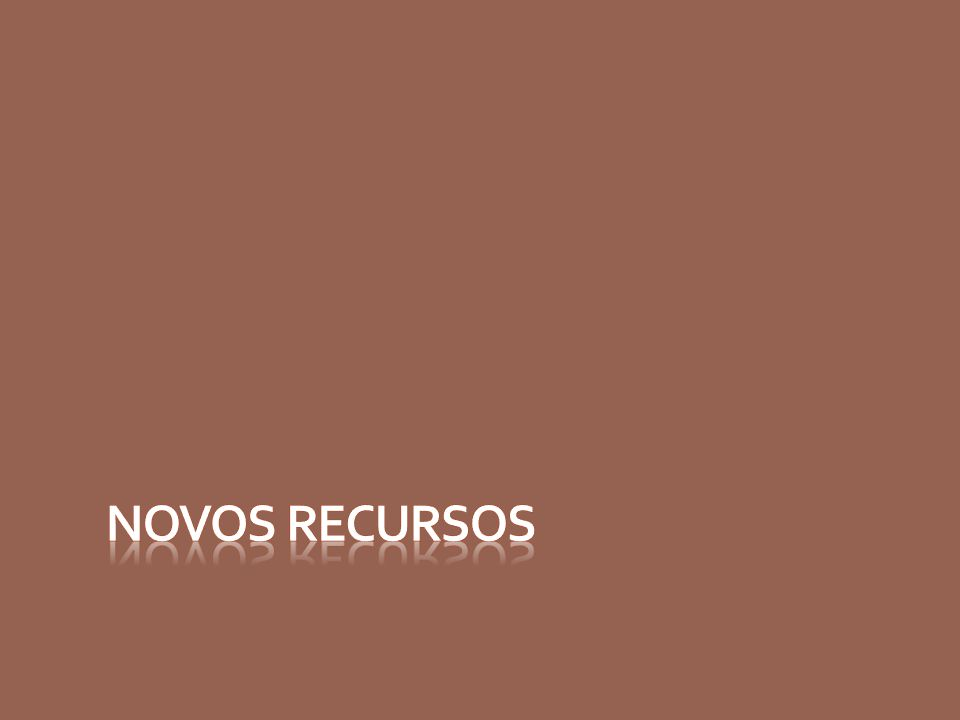 Novos Recursos Busca avançada Análise de frequência Nova interface de anotações Informações do cliente na tela de vendas Novos gráficos Novos relatórios Novos parâmetros de permissões para usuários Controle de protocolos Relatórios com logomarcas Filtro por canal de vendas Busca avançada Análise de frequência Nova interface de anotações Informações do cliente na tela de vendas Novos gráficos Novos relatórios Novos parâmetros de permissões para usuários Controle de protocolos Relatórios com logomarcas Filtro por canal de vendas
