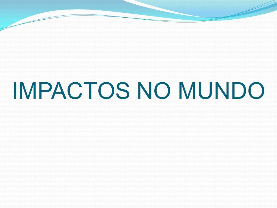 IMPACTOS NO MUNDO