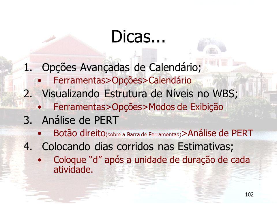 102 Dicas...