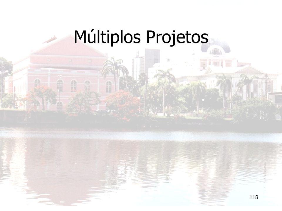 118 Múltiplos Projetos