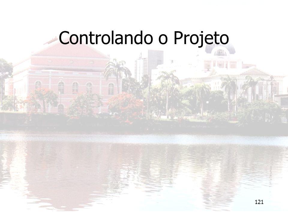 121 Controlando o Projeto