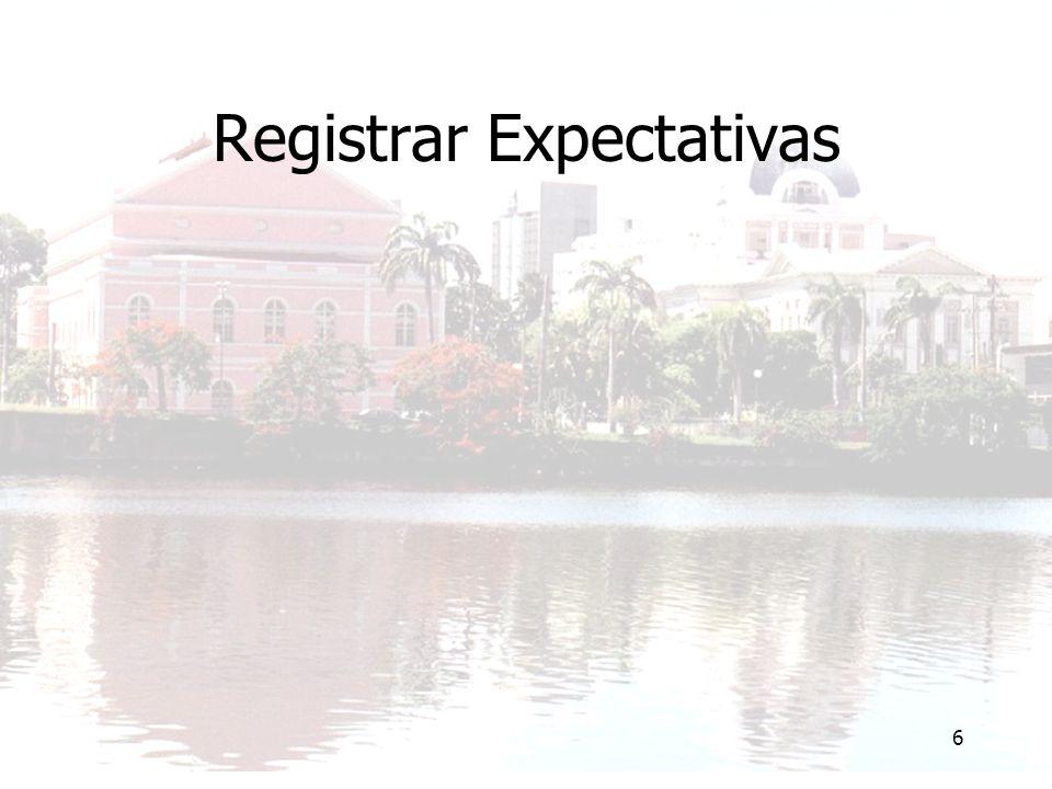 6 Registrar Expectativas