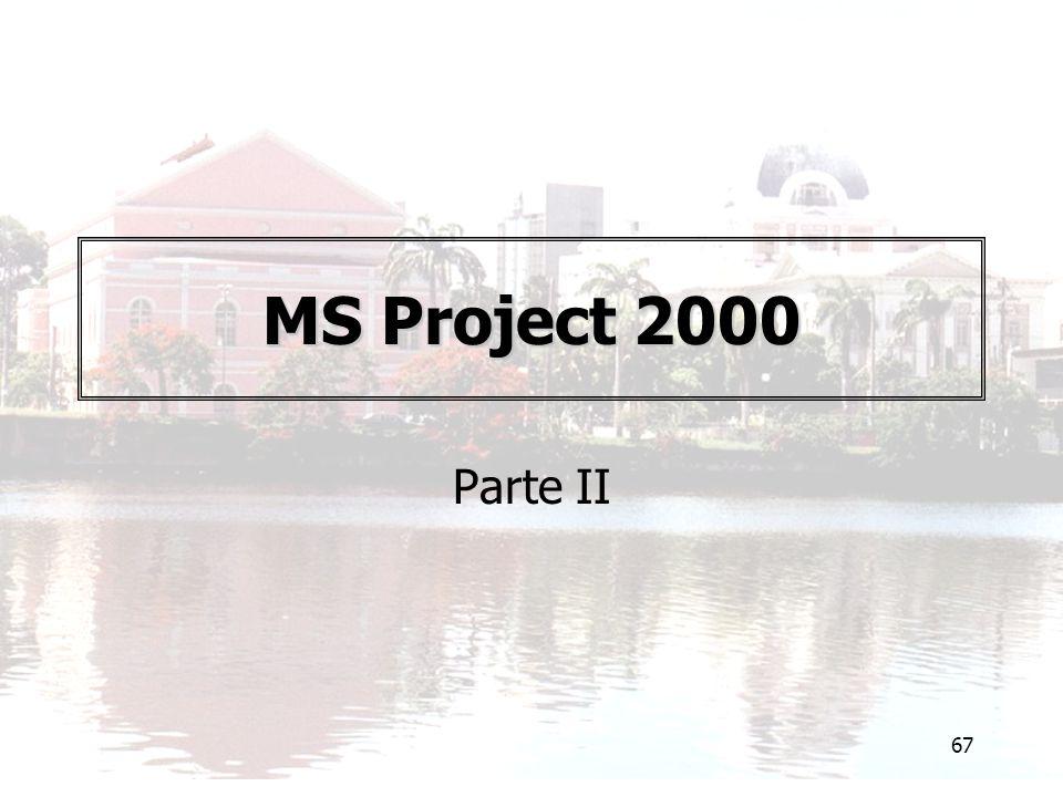 67 MS Project 2000 Parte II