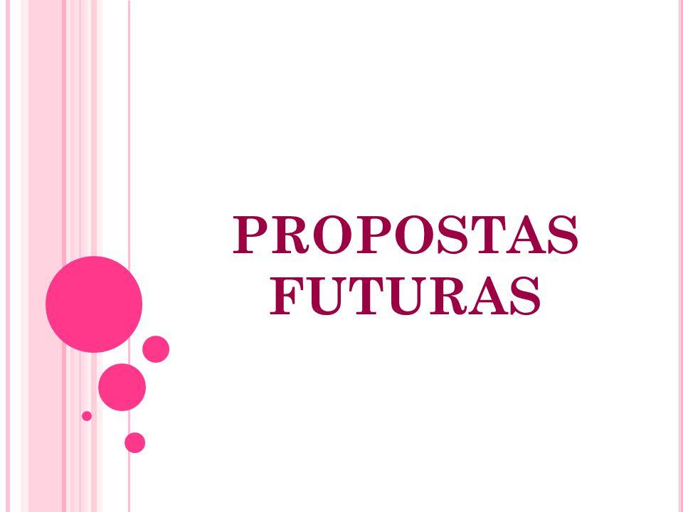 PROPOSTAS FUTURAS