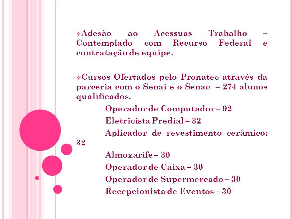 REALIZAÇÃO DE CAPACITAÇÕES PARA TÉCNICOS E CONSELHEIROS DE ASSISTÊNCIA SOCIAL