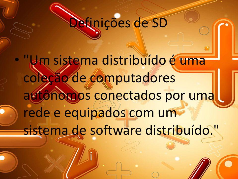 Definições de SD