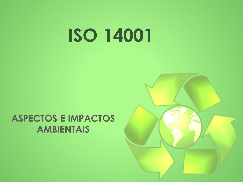 ISO 14001 ASPECTOS E IMPACTOS AMBIENTAIS