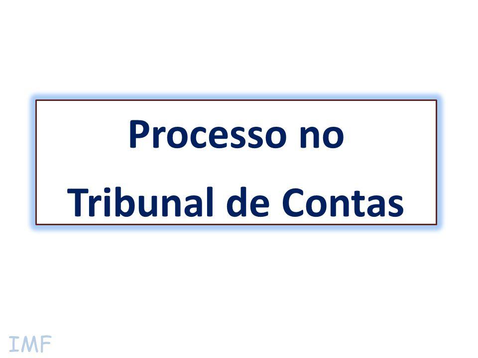 IMF Processo no Tribunal de Contas