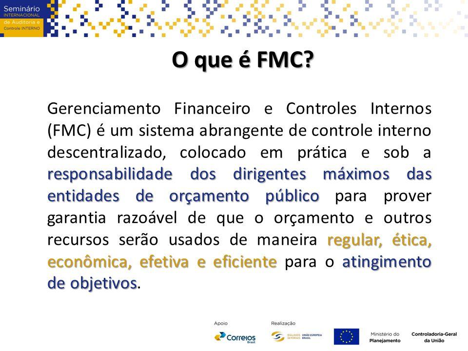 O impacto do FMC no papel do diretor financeiro O papel do diretor financeiro será dar suporte ao gestor O papel do diretor financeiro será dar suporte ao gestor e alertá-lo quando os recursos não estiverem sendo usados eficiente e efetivamente.
