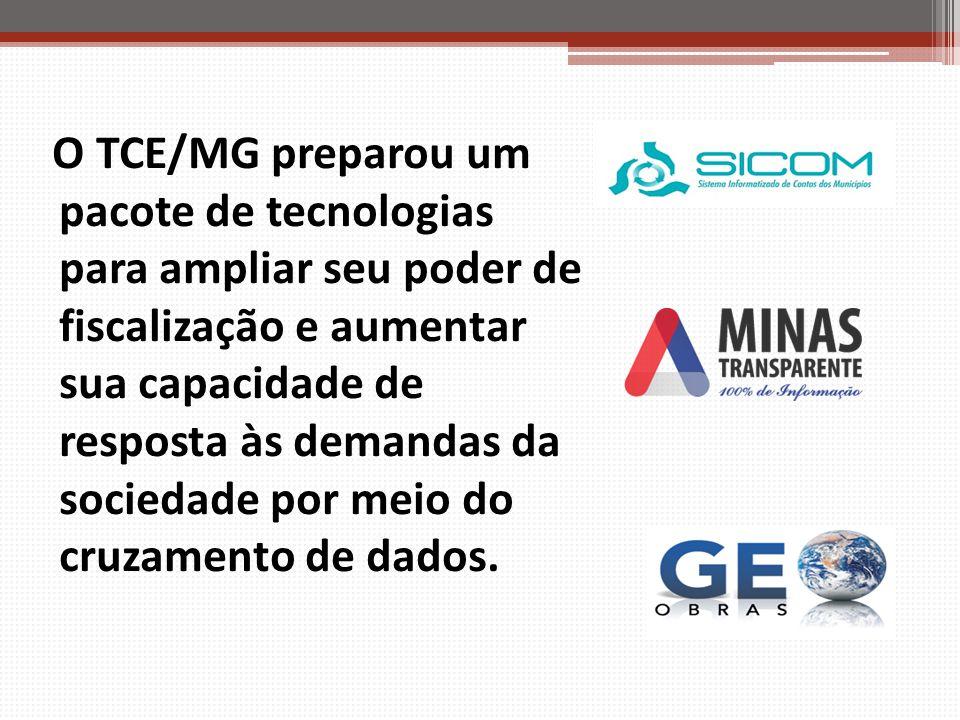 O TCE/MG preparou um pacote de tecnologias para ampliar seu poder de fiscalização e aumentar sua capacidade de resposta às demandas da sociedade por m