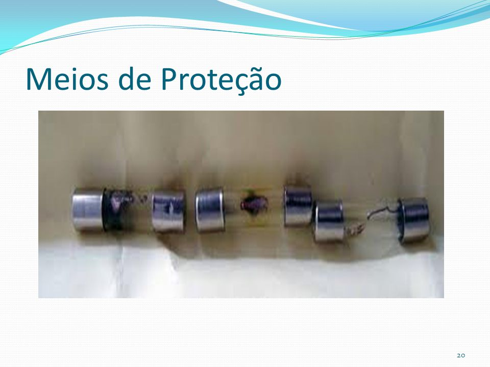 Meios de Proteção 20
