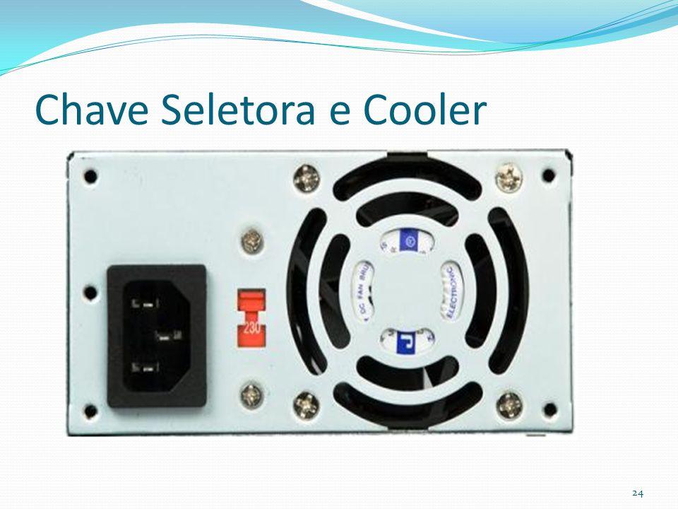 Chave Seletora e Cooler 24