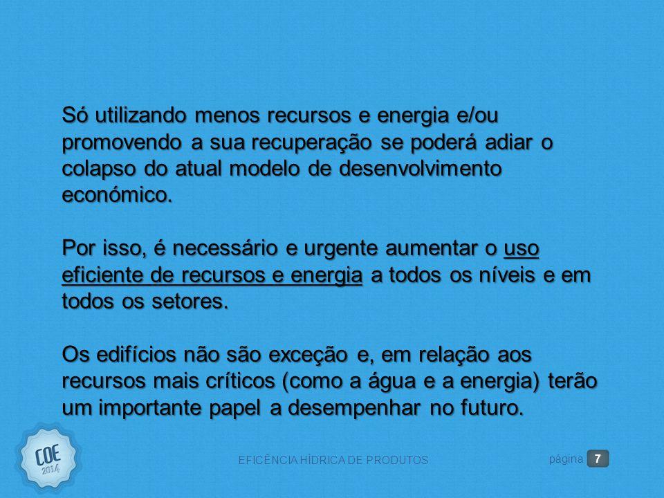 2. A IMPORTÃNCIA DA EFICIÊNCIA HÍDRICA