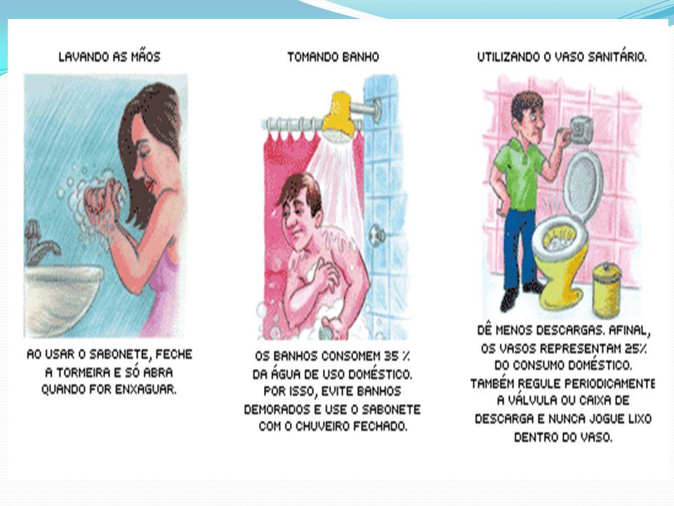 Feche a torneira: Todo consumidor de água pode ajudar a economizá-la, abandonando hábitos arraigados.