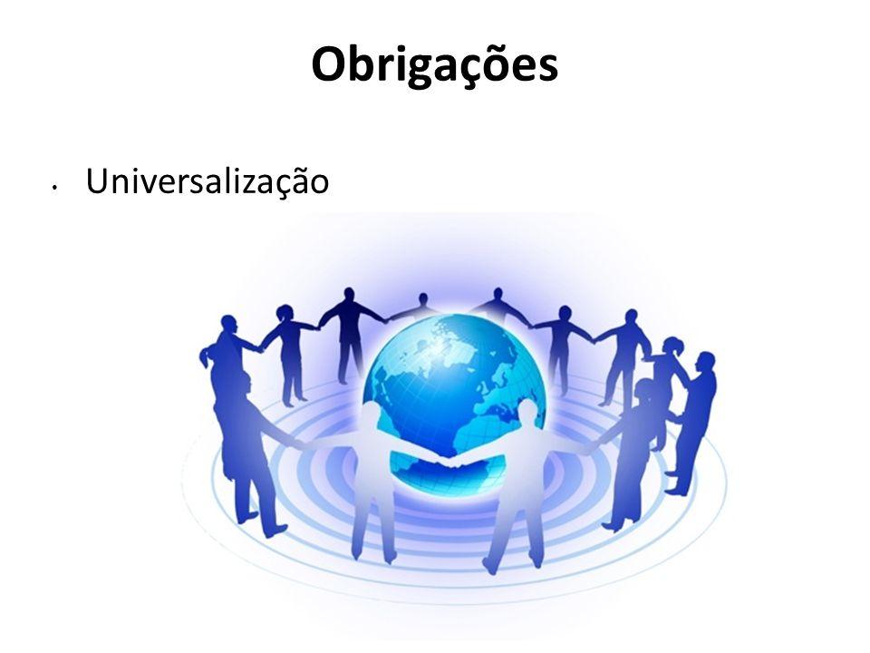 Obrigações Universalização