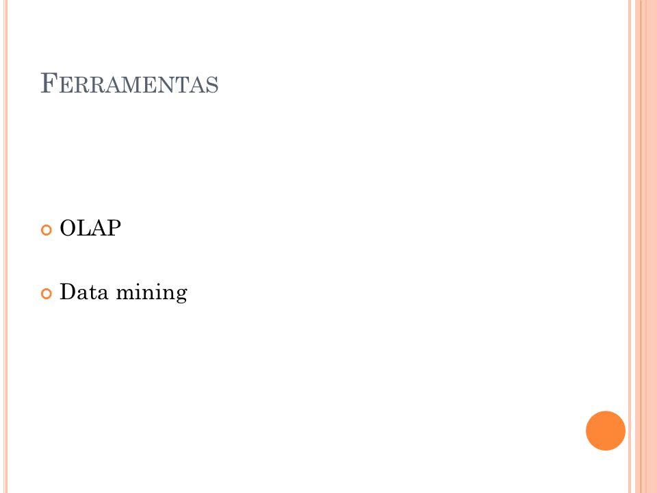 F ERRAMENTAS OLAP Data mining