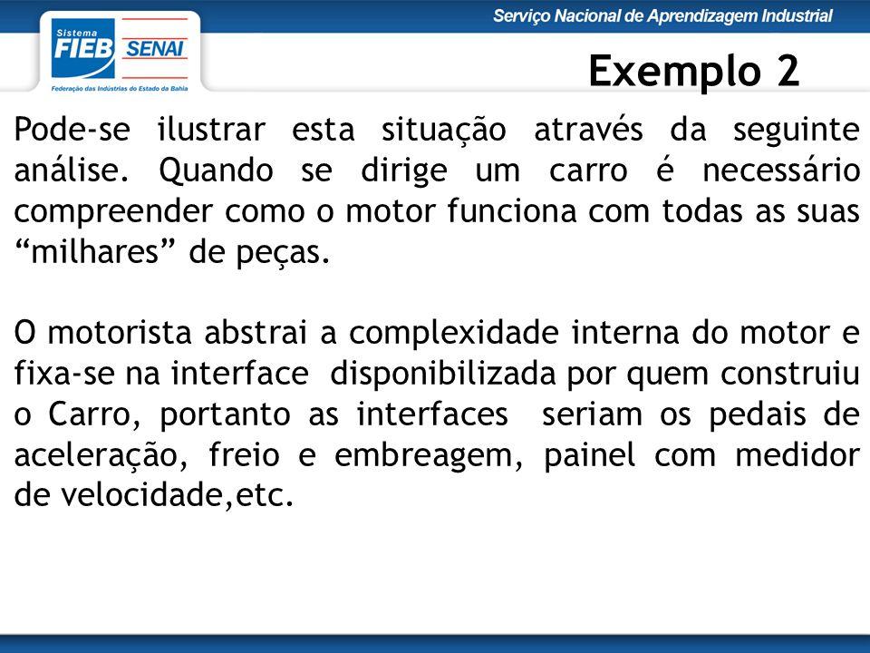 public class Pessoa{ // Atributos private String nome; private String sexo; // Métodos public void andar( ){ System.out.println[nome + está andando... ]; }