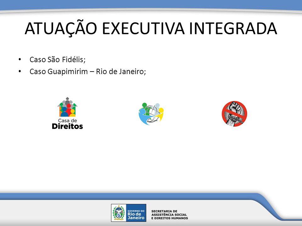 ATUAÇÃO EXECUTIVA INTEGRADA Caso São Fidélis; Caso Guapimirim – Rio de Janeiro;