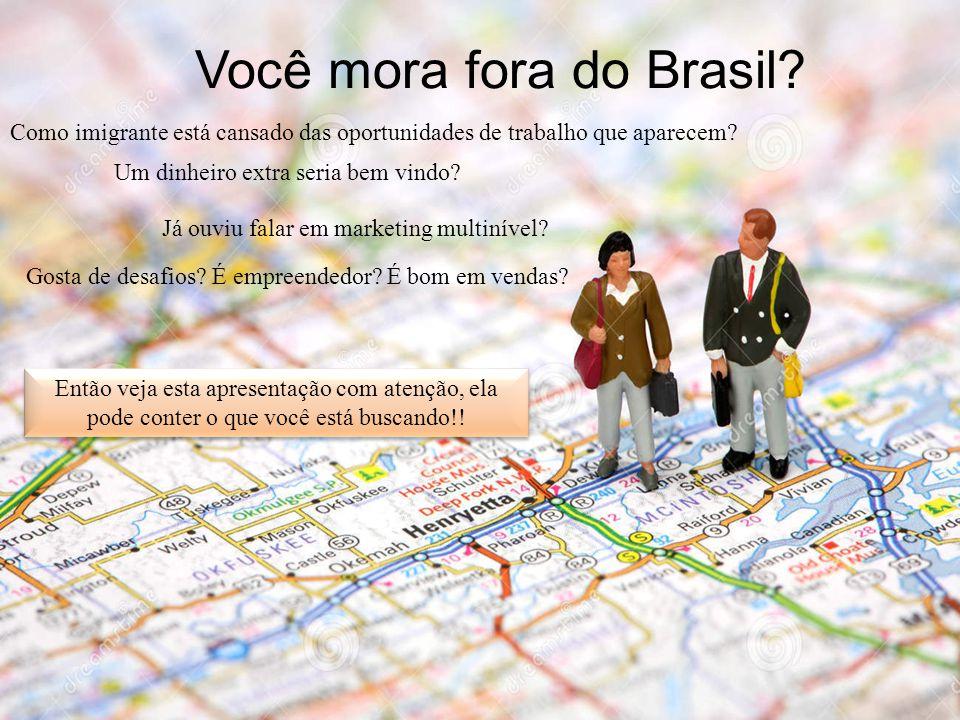 Você mora fora do Brasil? Como imigrante está cansado das oportunidades de trabalho que aparecem? Um dinheiro extra seria bem vindo? Gosta de desafios