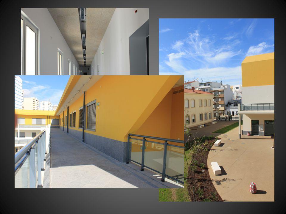 Nas novas instalações pode contar-se ainda com: – Laboratórios – Ginásio/Pavilhão desportivo – Salas de dança – Pátio/Jardim – Campos desportivos exteriores – Biblioteca – Cafetaria/Bar/Refeitório – Auditório/Anfiteatro