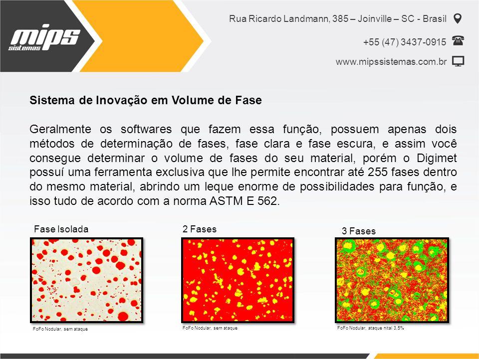 Rua Ricardo Landmann, 385 – Joinville – SC - Brasil +55 (47) 3437-0915 www.mipssistemas.com.br Sistema de Inovação em Volume de Fase Geralmente os sof