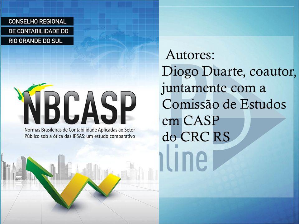 www.casponline.com.br Autores: Diogo Duarte, coautor, juntamente com a Comissão de Estudos em CASP do CRC RS