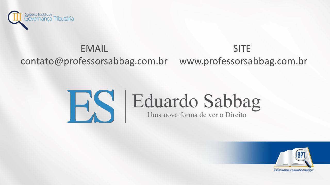 EMAIL contato@professorsabbag.com.br SITE www.professorsabbag.com.br