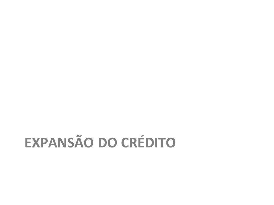 EXPANSÃO DO CRÉDITO