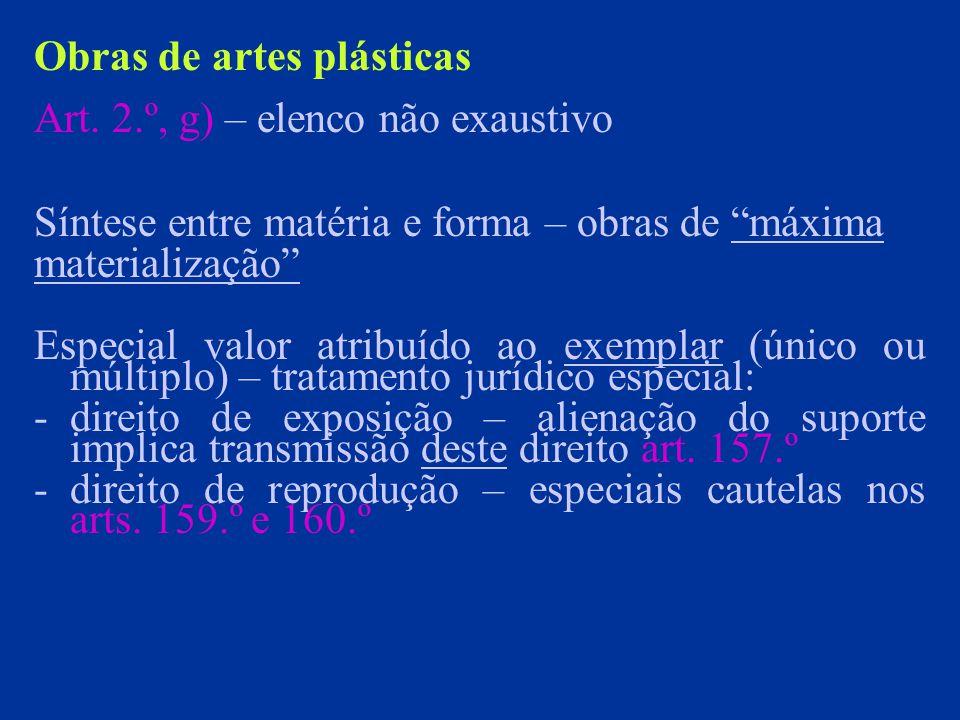 Obras de artes plásticas Art.