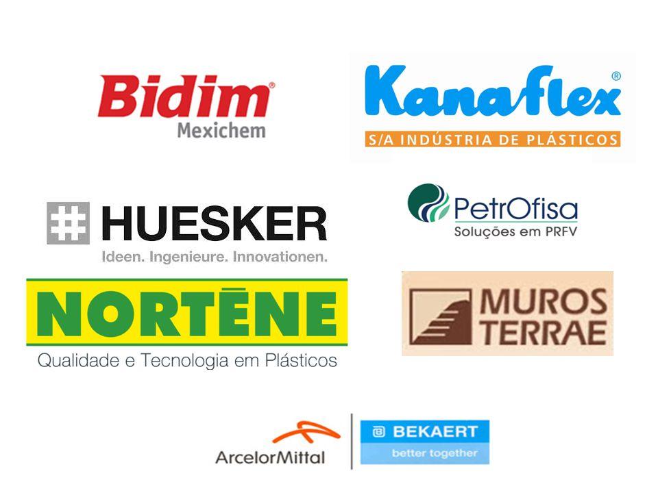 Os Geossintéticos São produtos industrializados com pelo menos um de seus componentes fabricado com polímero sintético ou natural.