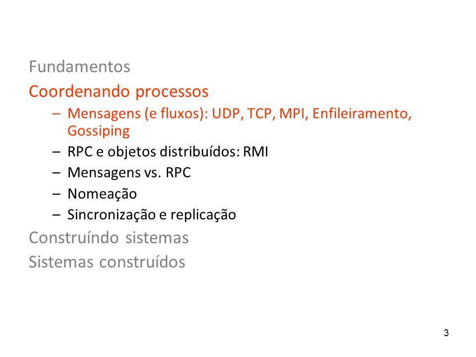 14 O UDP é útil.