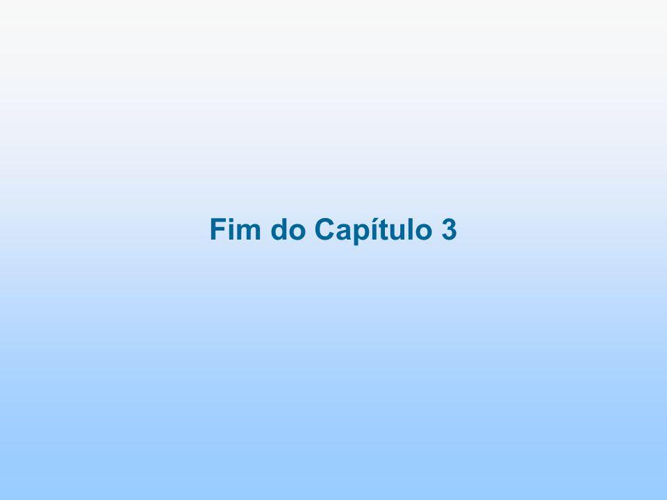 Fim do Capítulo 3