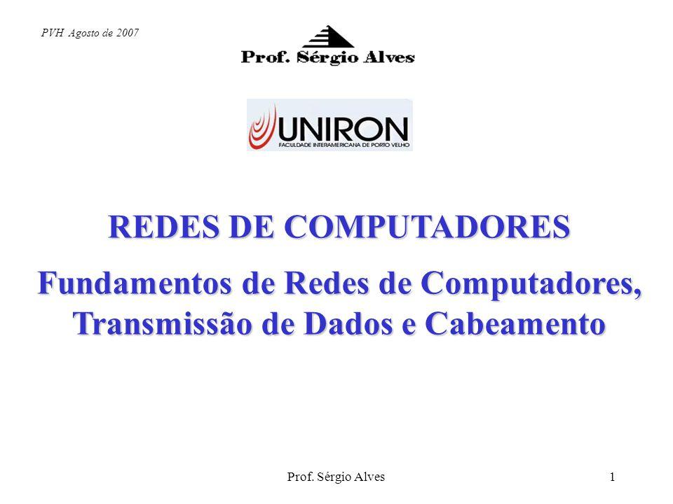 Prof. Sérgio Alves11 Conversão analógico-digital
