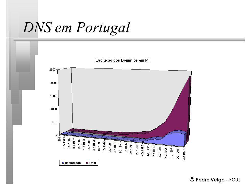 © Pedro Veiga - FCUL DNS em Portugal