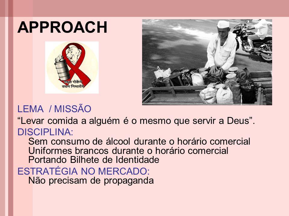"""APPROACH LEMA / MISSÃO """"Levar comida a alguém é o mesmo que servir a Deus"""". DISCIPLINA: Sem consumo de álcool durante o horário comercial Uniformes br"""
